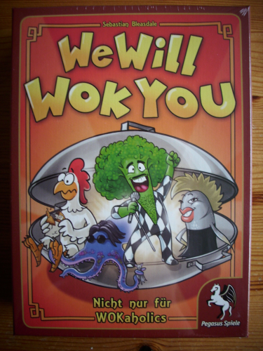 We Will Wok You - taktisches Kartenspiel
