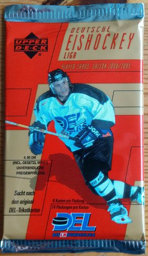 Upper Deck - DEL Player Cards Booster - Saison 2000/2001